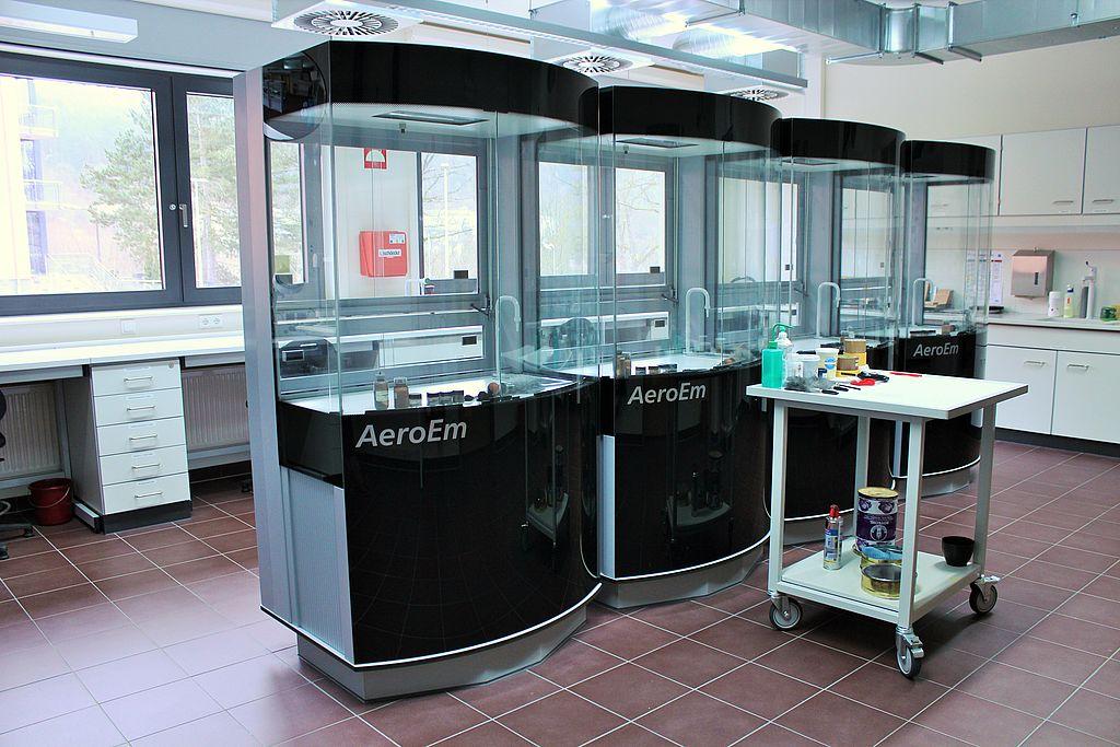 Kriminaltechnik Labor