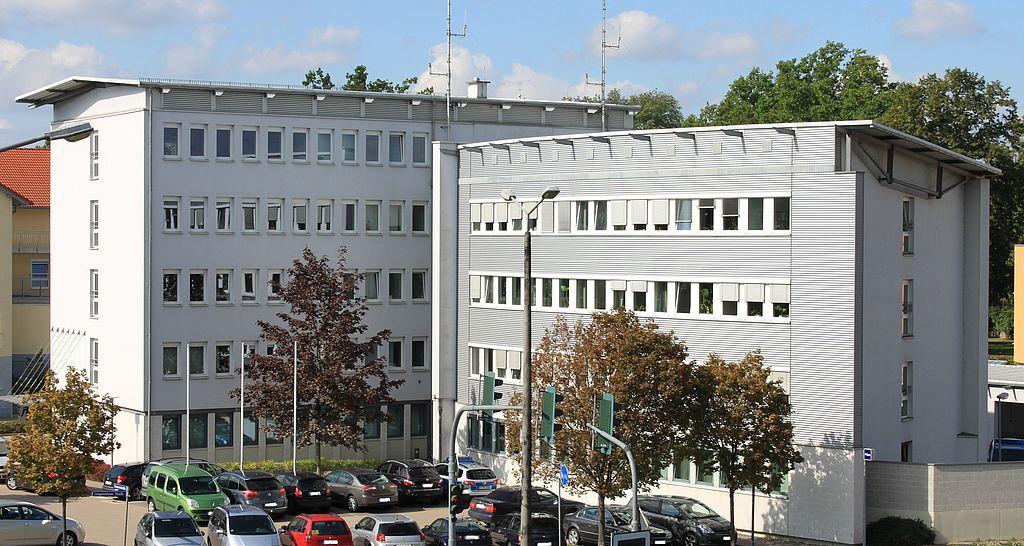 Das Bild zeigt das Gebäude der Kriminalpolizeistation Mühlhausen