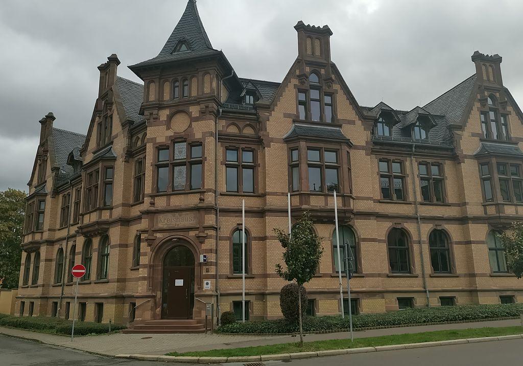 Das Bild zeigt das Gebäude der Polizeistation Bad Langensalza