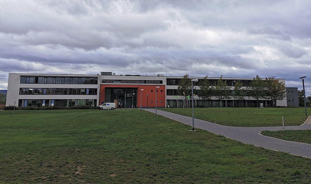Das Bild zeigt das Gebäude der Polizeistation Artern