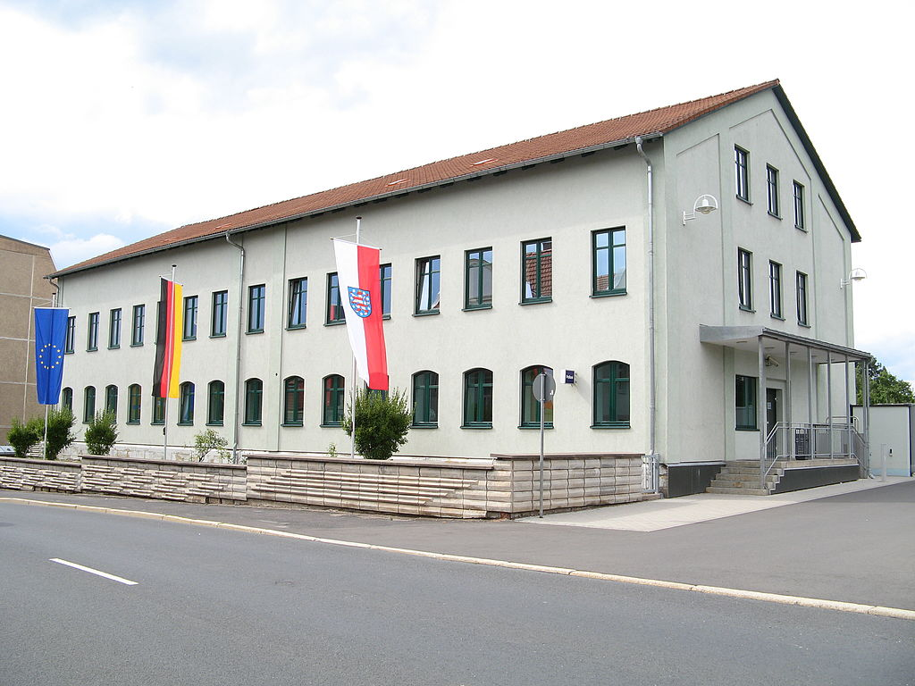 Dienstgebäude der PI Hildburghausen
