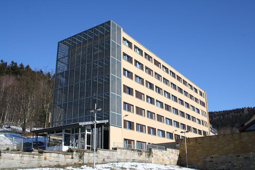 Dienstgebäude der KPI Suhl