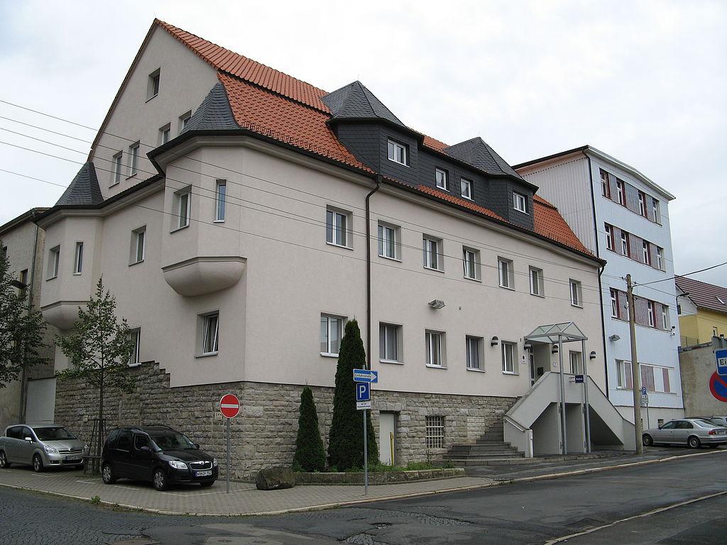 Dienstgebäude der PI Bad Salzungen