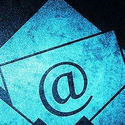 Foto einer E-Mail