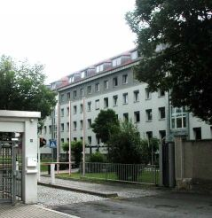 Das ehemalige Gebäude des Landeskriminalamtes Thüringen (1991 bis 2014)